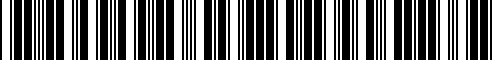 Barcode for T99F4-5CH0C